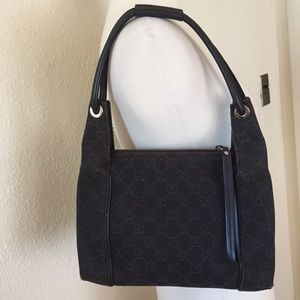 Authentic Gucci Monogram Shoulder Bag